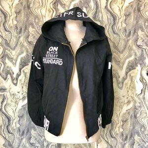 Jackets & Blazers - NEW PROVOKE DANCING BETTY ZIP HOODIE BOLD M BLACK